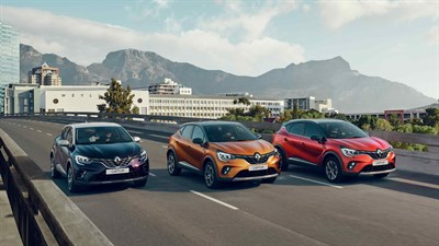 Renault CAPTUR - Gamme
