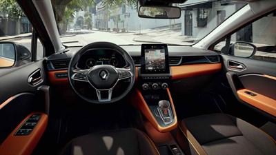 Renault CAPTUR - tableau de bord